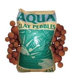 Canna Aqua Clay Pebbles 45L/20L Bag Hydroponics Growing Media