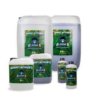 Monkey Nutrients Monkey Grow &  Bloom A+B