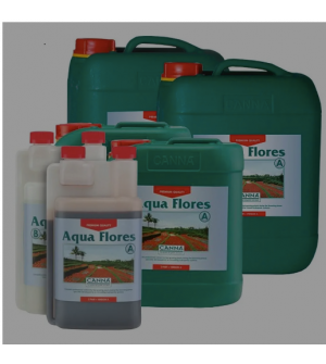 Canna Hydro Flores  A + B Plant Nutrient For Flowering Plants